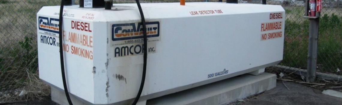 Aboveground petroleum storage  tanks are regulated by EMD
