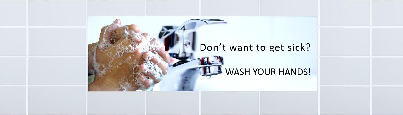 Handwashing prevents illness